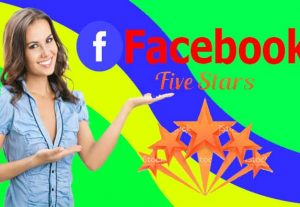 I will give 10 permanent Facebook reviews 100% Non Drop & Life time Guaranteed