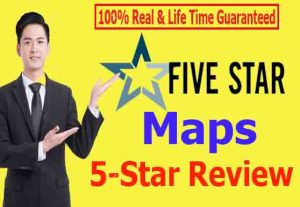 I will give 20 permanent Maps reviews 100% Non Drop & Life time Guaranteed
