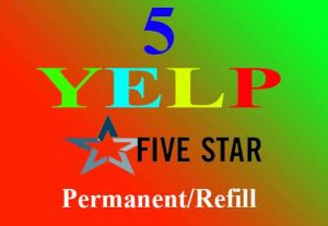 I will Give you 5 Amazing Yelp review in 12 hours