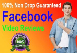 I will Promote 12,000+ Facebook Video Views, Real & Active users,100% Non drop Guaranteed