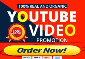 I Will Add 500+ Hq & Non-Drop Youtube Views 100+ Likes, 10 Subscribers, 10 Comments  Life Time Guarantee