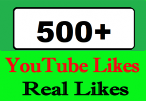500+ YouTube Video Likes Or 1000+ High Retention Video Views Or 40+ Custom Comments