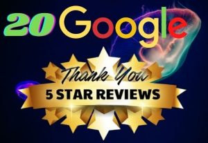 I WILL GIVE YOU 20 PERMANENT REVIEW ON YOUR GOOGLE WEBSITE