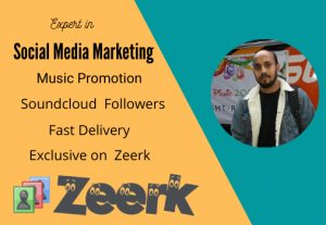 I will add 1200 + sound cloud followers to your profile, 100 real & active
