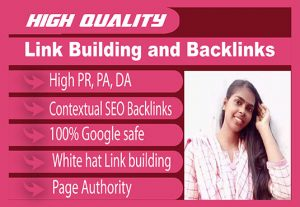 I will do 50 Link Building and Backlinks for your website