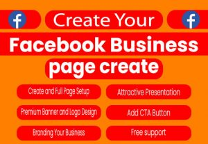 I will set up and optimize a professional Facebook business page