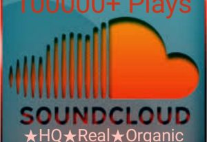 Add 100000+ SoundCloud Plays at instant with high quality, non drop promotions!!