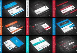 Get 150 individual templates Business Card Design Print Ready