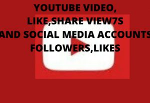 I Will Promote Youtube Video or Social Media Accounts