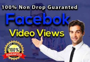 I will Promote 18,000+ Facebook Video Views, Real & Active users,100% Non drop Guaranteed