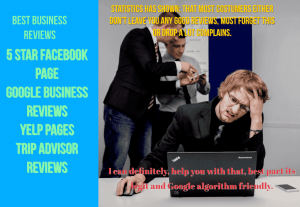 Facebook page, GooglemyBusiness, and Trustpilot From real people.