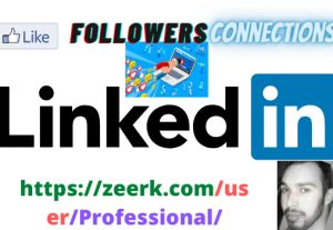 LinkedIn HQ Company or Profile Followers super fast best services on zeerk