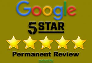 I will provide you 10 permanent and organic google review for life time