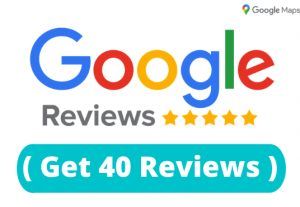 Get 40 Permanent Google Reviews In Google Map for your business