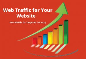 I will send 8k targeted website traffic, real and organic visitors