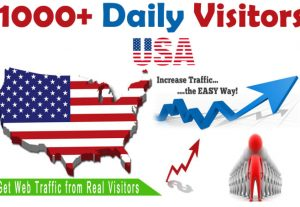 I will boost website ranking by real organic targeted USA web traffic