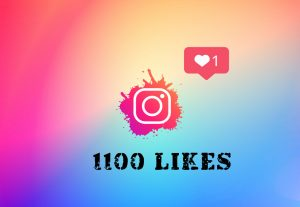 1100 Instagram Likes HQ NON DROP Fast Delivery