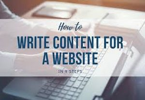 Writing articles and content for your website or blog or posts for your 500-word