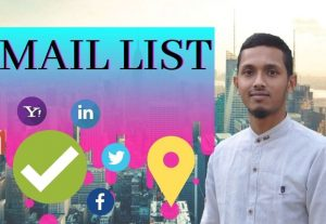 I will build 1500 targeted email list