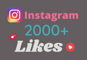 ADD 2000+ INSTAGRAM LIKES NON-DROP AND HIGH QUALITY WITHIN 1 TO 5 HOURS