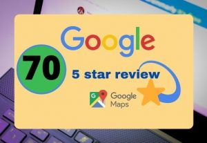 I will provide 70 permanent 5 star google reviews