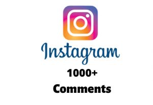 I will send you 1000+ Instagram Random Comments