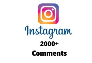 I will send you 2000+ Instagram Random Comments
