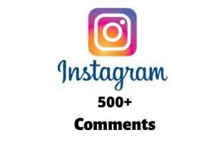 I will send you 500+ Instagram Random Comments