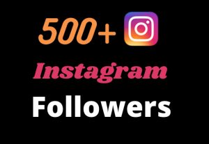 Get 500+ real and organic Instagram followers for your business