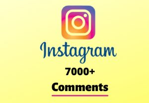 I will send you 7000+ Instagram Random Comments