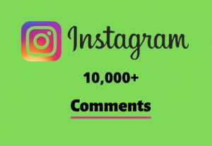 I will send you 10,000+ Instagram Random Comments
