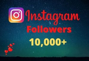 Get 10000+ Instagram Followers Instant, lifetime guaranteed, Non-drop, and active user