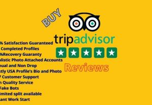 buy 10 TRIPADVISOR REVIEWS -15 DAYS WARRANTY (100% MONEY refund GUARANTEE)