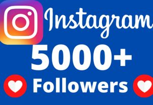 I will add 5000+ REAL AND non drop Instagram followers.