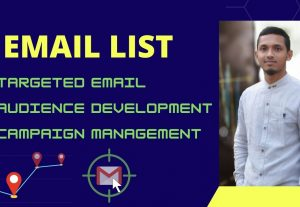 I will build 10000 targeted email list