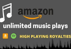 I will play 1000 amazon music with high quality royalties.