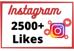 Get Instant 2500+ Non-Drop And High-Quality Instagram Likes