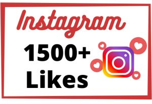 Get Instant 1500+ Non-Drop And High-Quality Instagram Likes