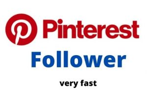 I will send over 4000 Pinterest Followers With Non-Drop Guaranteed