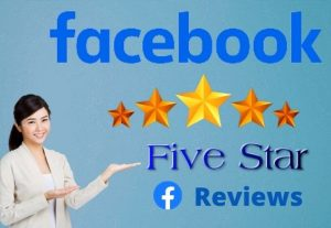 I Will Provide  you 100 Facebook five star rating and reviews on your business fan page.