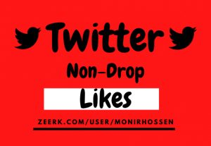 Get 100+ Organic, High-quality & Real Twitter-like, Non-Drop Guareented.