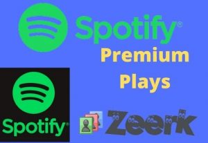 I will provide 9000+ Spotify Premium Plays HIGH-QUALITY REAL AND ORGANIC