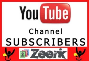 Get Real & Active 1000 YouTube Subscribers only