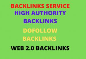 I will create high authority backlinks