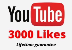 3000 Youtube Likes in your youtube video 100% Guaranteed