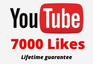 7000 Youtube Likes in your youtube video 100% Guaranteed