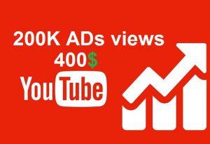 Youtube Adwords Views | real | non drop