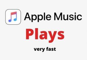 I will do 3000 apple music plays for you.