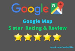 I will give 10 country targeted permanent google map review || 100% original