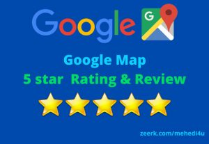 I will give 10 country targeted google map review || 100% original